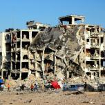 صور العدوان على غزة 2014