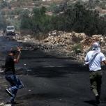 قلقيلية مواجهات بين الشبان وجنود الإحتلال