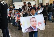 الشعبية في غزة تنظم وقفة عدم وإسناد للأسيرين محمد القيق وبلال كايد والأسير المحرر عمر النايف