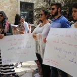 جبهة العمل الطلابي التقدمية في الضفة المحتلة تنظم فعاليات تضامنية مع الاسرى