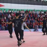جبهة العمل الطلابي تكرم (فوج فرسان العودة) من متفوقي الثانوية العامة