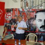 جانب من فعاليات احياء ذكرى استشهاد أبو علي مصطفى لبنان