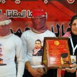 تابين الرفيق المقاتل الشهيد خالد جوابرة مخيم العروب