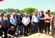 جماهير غفيرة تشيع جثمان القيادي التاريخي في الجبهة محمد يوسف نعيرات