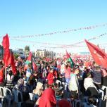 الشعبية شمال قطاع غزة تحيي ذكرى انطلاقة ال49 للجبهة