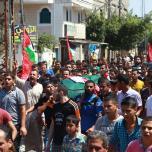 تشييع الرفيق المقاتل محمود اسامة عباس