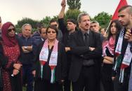 تشييع جثمان الشهيد القائد عمر النايف في صوفيا