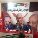 مؤتمر صحفي لنائب الأمين العام أبو أحمد فؤاد