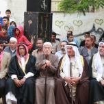 حفل تأبين شهيد لقمة العيش محمد بكر