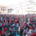 مهرجان إنطلاقة الجبهة الـ 49، بحيّ الشجاعية