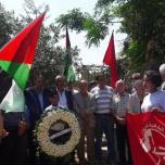 الذكرى الخامسة والأربعين لاستشهاد الأديب وعضو المكتب السياسي للجبهة الرفيق غسان كنفاني
