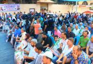 الجبهة الشعبية تنظم مهرجاناً حاشداً دعماً وإسناداً للرفيق بلال كايد والأسرى