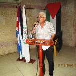 كوبا تتضامن مع فلسطين في الذكرى ال 48 للانطلاقة المجيدة
