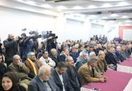 الشعبية في غزة تحيي ذكرى رحيل المؤسس الدكتور جورج حبش بحفل وطني كبير