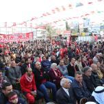 الشعبية في رفح تنظم مهرجان جماهيري حاشد