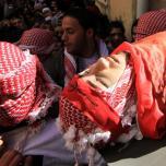جنازة الرفيق البطل مالك شاهين