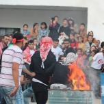 الشعبية تنظم حفل تأبين حاشد لرفيقها الشهيد إيهاب حنني في بيت فوريك