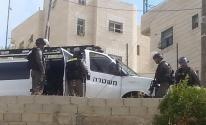 صور خلال اقتحام منازل الرفيقين غسان وعدي ابو جمل في جبل المكبر .