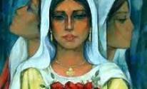 المرأة الفلسطينية اسماعيل شموط 2