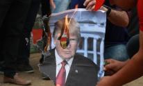الجبهة الشعبية مسيرة رفض زيارة ترامب للاراضي الفلسطينية (35)