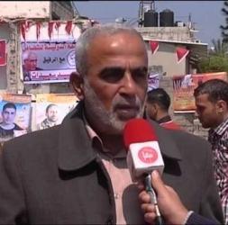 وقفة تضامنية مع الاسرى في غزة احياء ليوم الاسير الفلسطيني