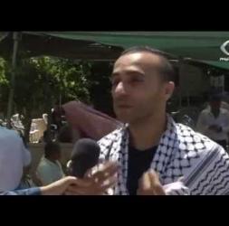 جماهير غفيرة تشيّع جثمان الشهيد عريف جرادات من بلد سير بالخليل المحتلة-فلسطين اليوم