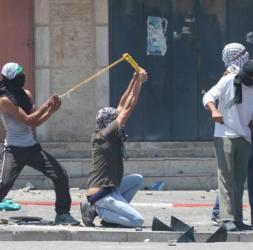 احراق برج عسكري داخل نقطة عسكرية  في مدينة القدس المحتلة