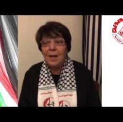 رسالة الرفيقة ليلى خالد الى رفاق جبهة العمل الطلابي التقدمية - جامعة القدس
