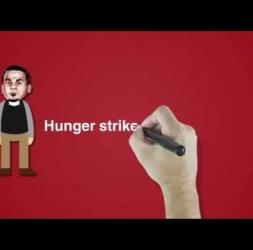 Bilal Kayed, the  Palestinian prisoner on hunger strike 14/07/2016