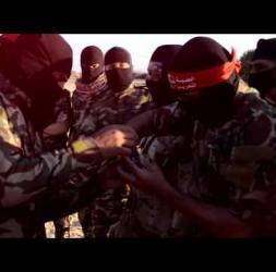 من استعدادات وحدة هندسة المتفجرات في كتائب الشهيد ابو علي مصطفى