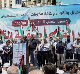 قادة الفصائل غزة