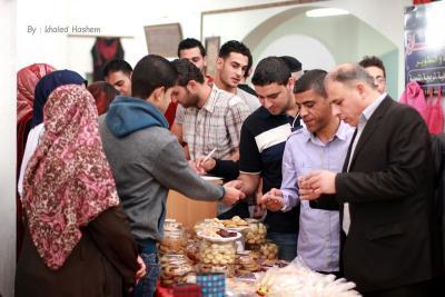 فعاليات جبهة العمل في جامعات غزة _ تصوير خالد ابو الجديان (29084576) 