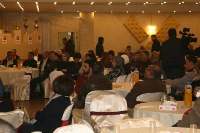 الشعبية في نابلس تنظم ندوة سياسية بعنوان القضية الفلسطينية إلى أين ؟ (49)