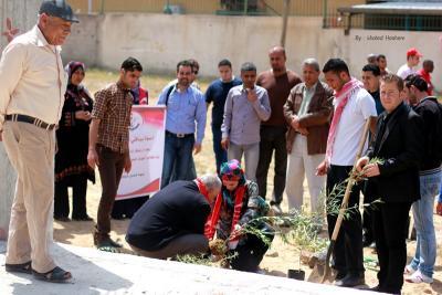 فعاليات جبهة العمل في جامعات غزة _ تصوير خالد ابو الجديان (29084564) 