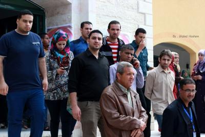 فعاليات جبهة العمل في جامعات غزة _ تصوير خالد ابو الجديان (29084554) 