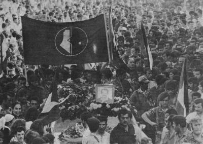 صور نادرة للشهيد القائد غسان كنفاني  (17)