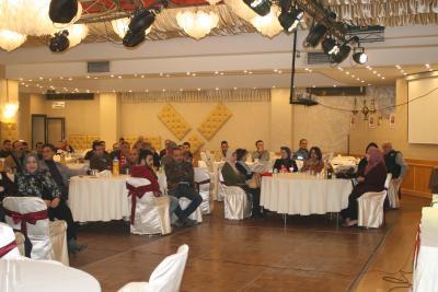 الشعبية في نابلس تنظم ندوة سياسية بعنوان القضية الفلسطينية إلى أين ؟ (34)