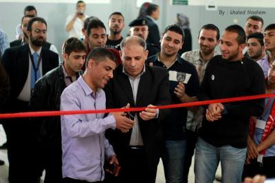 فعاليات جبهة العمل في جامعات غزة _ تصوير خالد ابو الجديان (29084575) 