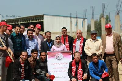 فعاليات جبهة العمل في جامعات غزة _ تصوير خالد ابو الجديان (29084567) 