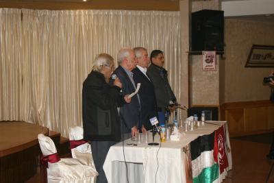 الشعبية في نابلس تنظم ندوة سياسية بعنوان القضية الفلسطينية إلى أين ؟ (8)