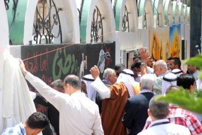 فعاليات جبهة العمل في جامعات غزة _ تصوير خالد ابو الجديان (29084591) 