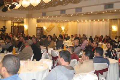 الشعبية في نابلس تنظم ندوة سياسية بعنوان القضية الفلسطينية إلى أين ؟ (56)