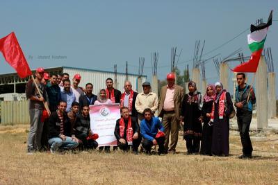 فعاليات جبهة العمل في جامعات غزة _ تصوير خالد ابو الجديان (29084566) 