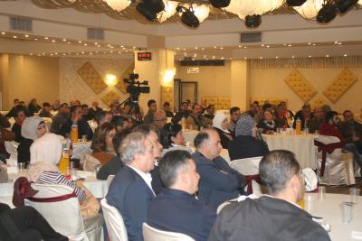 الشعبية في نابلس تنظم ندوة سياسية بعنوان القضية الفلسطينية إلى أين ؟ (62)
