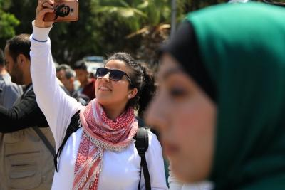 لجنة المتابعة للقوى بغزة تنظم وقفة تضامنية مع سورياً (13)