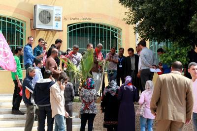 فعاليات جبهة العمل في جامعات غزة _ تصوير خالد ابو الجديان (29084555) 