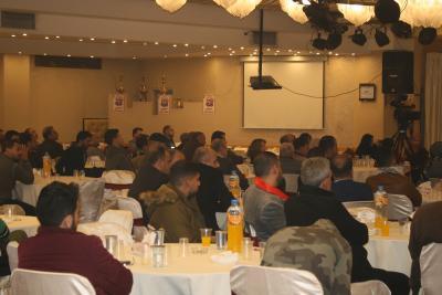 الشعبية في نابلس تنظم ندوة سياسية بعنوان القضية الفلسطينية إلى أين ؟ (76)