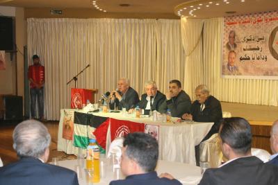 الشعبية في نابلس تنظم ندوة سياسية بعنوان القضية الفلسطينية إلى أين ؟ (36)