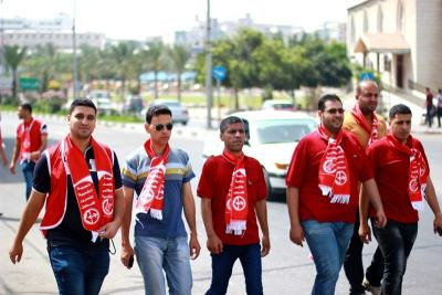 فعاليات جبهة العمل في جامعات غزة _ تصوير خالد ابو الجديان (29084580) 
