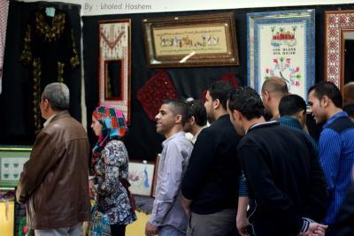فعاليات جبهة العمل في جامعات غزة _ تصوير خالد ابو الجديان (29084553) 